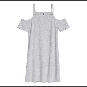 Divided H&M Cold-Shoulder Dress